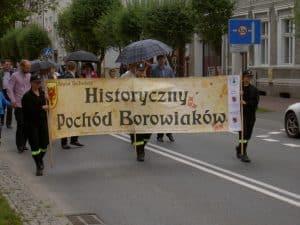 Historyczny Pochód Borowiaków 2016