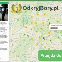 Interaktywna mapa Borów Tucholskich odkryjBory.pl