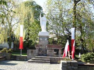 Pomnik św. Małgorzaty w Tucholi