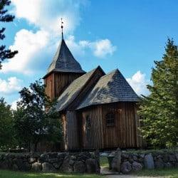 Kościół św. Barbary - Wdzydze Kiszewskie, Swornegacie