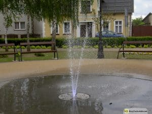 Śliwice - fontanna