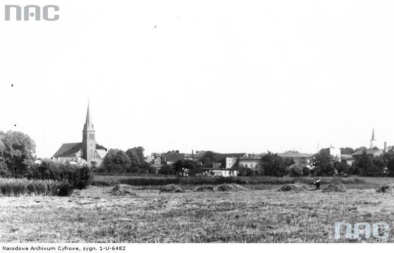 Panorama Tucholi - źródło: Narodowe Archiwum Cyfrowe
