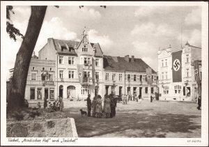 Tucholski rynek - Tuchola pod okupacją niemiecką