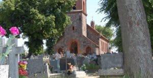 Lubiewo - kościół pw. św. Mikołaja - źródło: portal.tucholski.pl