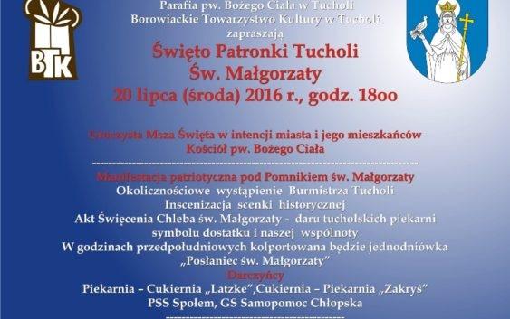 Święto Patronki Tucholi – św. Małgorzaty