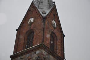 Wieża lubiewskiego koscioła - źródło: restaurostyl.pl