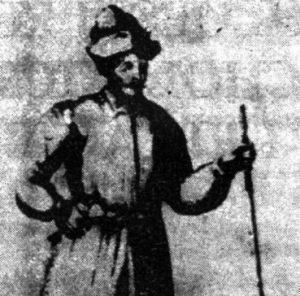 XVII wieczny pomorski chłop