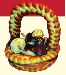 Ciasteczka borowiackie - źródło: materiały Lokalnej Grupy Działania w Tucholi