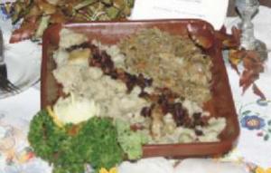 Kluski ziemniaczane -  źródło: materiały Lokalnej Grupy Działania w Tucholi