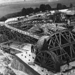 Budowa elektrowni wodnej w Żurze - źródło: Bractwo Czarnej Wody