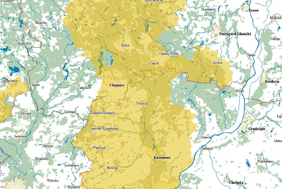 Zakazy wstępów do lasów – mapa i informacje