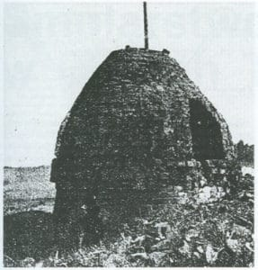 Piec smolny w Laskach