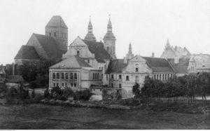 Chojnice - widok ogólny miasta - źródło: Narodowe Archiwum Cyfrowe