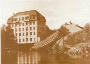 Elektrownia w Gródku - fot. ze zbiorów Mariusza Chudeckiego