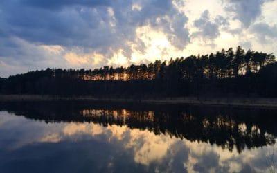 Legenda o jeziorze w Kęsowie