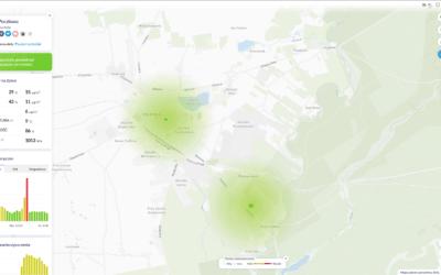 Kolejny czujnik jakości powietrza w Borach Tucholskich