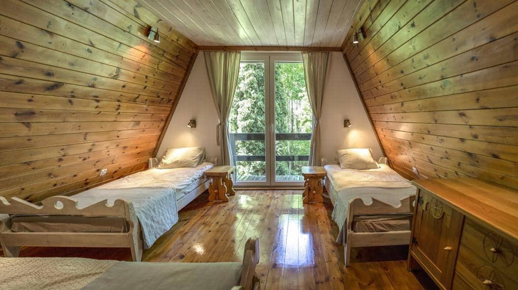 Dom w Borach Tucholskich - Domki